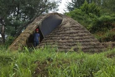 Raistudio's Bamboo Dome Shelter Pops up in Iran