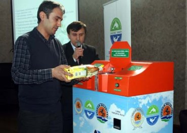 Biodiesel Money Machine Collects Old Cooking Oil In Turkey