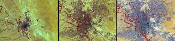 urban sprawl in Saudi Arabia