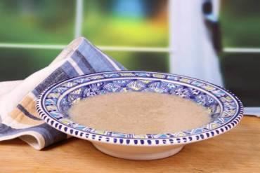 Vegewarian Herbel, Moroccan Wheat Soup RECIPE