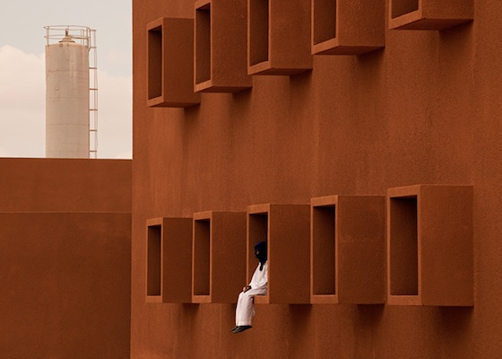 Morocco's Guelmim Technology School is Red Like the Sahara but Cooler