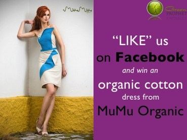Like Us on Facebook and Win an Organic Cotton Dress