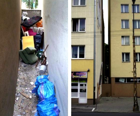 Minimalist, Etgar Keret, Jakub Szczsny, Centrala, Poland, Warsaw, Parasitic structure, Keret House, Architecture