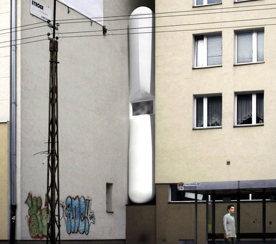 Famous Israeli Writer Commissions 4-foot Wide Parasitic House