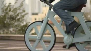 Cardboard Bike from Israel Makes Cycling Even Greener