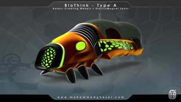 BioThink: Iranian Hybrid Vehicle Powered by Magnets and Sun