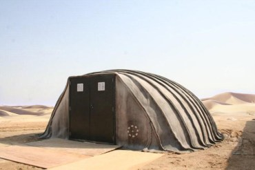Buildings-in-a-Bag Can Instantly Aid Middle East Refugees