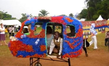 Ugandan Eco-Artist Wins TED Prize for an Amusement Park Made of Plastic Bottles