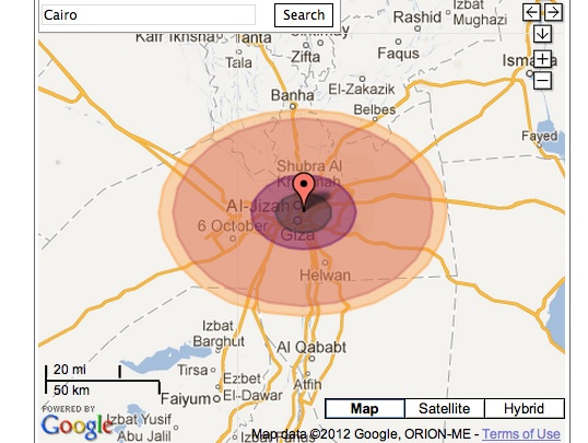 cairo nuclear bomb