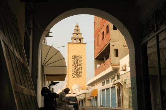 graffiti, street art, Quran, Tunisia, mosque