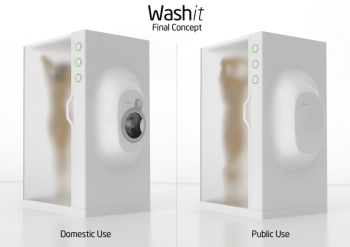 Washit Shower and Washing Machine from Turkey