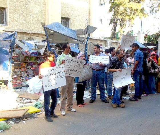 Censorship, Alexandria, Egypt, Nabi Daniel Bookstores