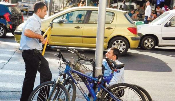 Tel Aviv Goes on Bike Impounding Rampage
