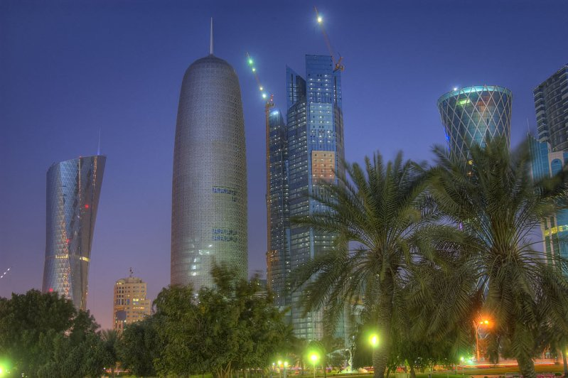 There's a Burj Qatar by Jean Nouvel and it's the World's 'Best' Tall Building
