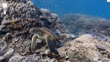 Google Street View Goes Under Sea