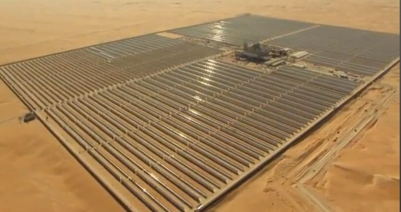 Abu Dhabi's Shams 100 MW CSP Solar Power Plant To Switch On … Soon