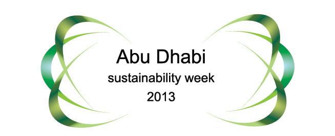 Welcome 2013 at Abu Dhabi Sustainability Week