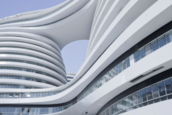 LEED, USGBC, Galaxy SOHO, architecture, Iraq, Zaha Hadid
