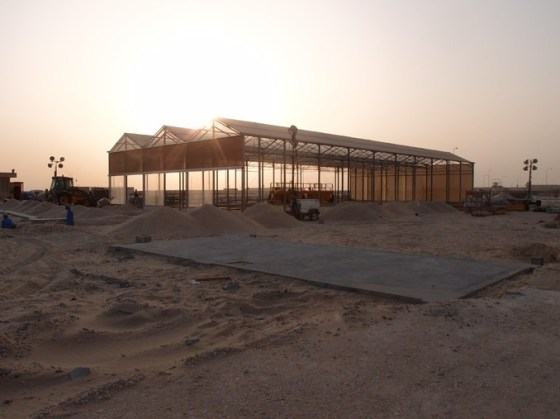 Sahara Forest Project, desert agriculture, seawater greenhouse, clean tech, concentrated solar power, CSP, Qatar, COP18