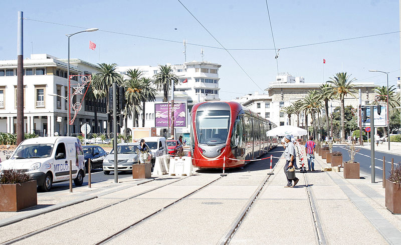 Spiffy New Tramway Connects Casablanca's Hot Spots