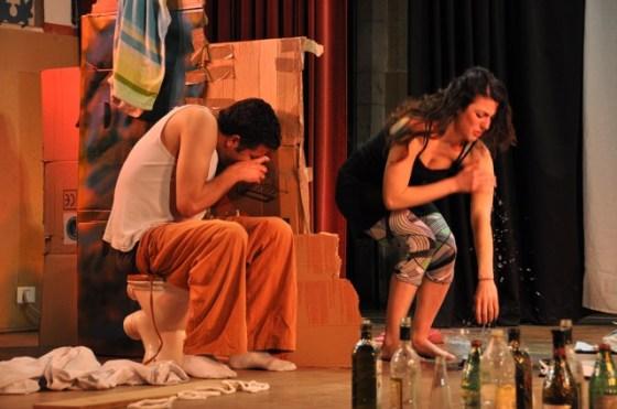YTheater, Take-Away, Kickstarter, Crowdfunding, eco-theater, trash, waste management, art, culture, Israelis, Palestinians, Jerusalem