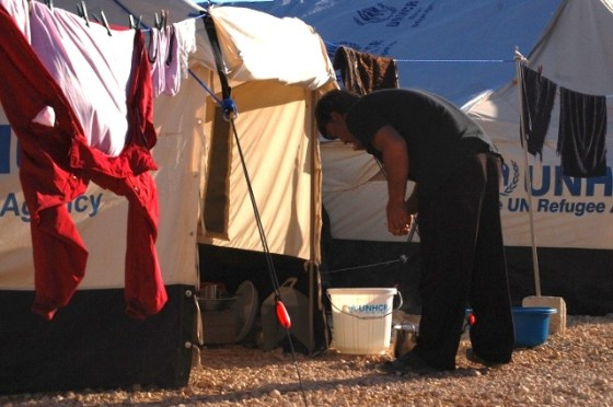 syria refugees at jordan camp for biofuel