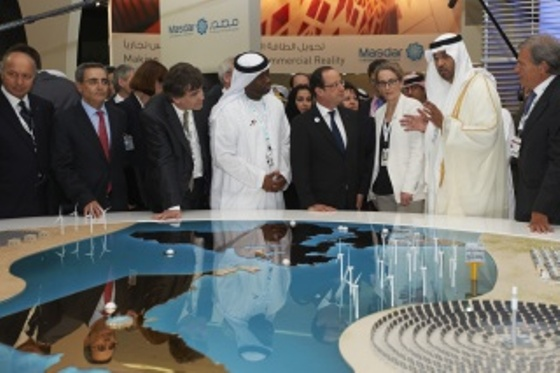 france masdar deal CEO Dr. Sultan Ahmed Al Jaber