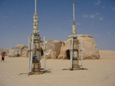 Star Wars Filming Sets in Matmata, Tunisia Promotes Desert Tourism for the Berbers