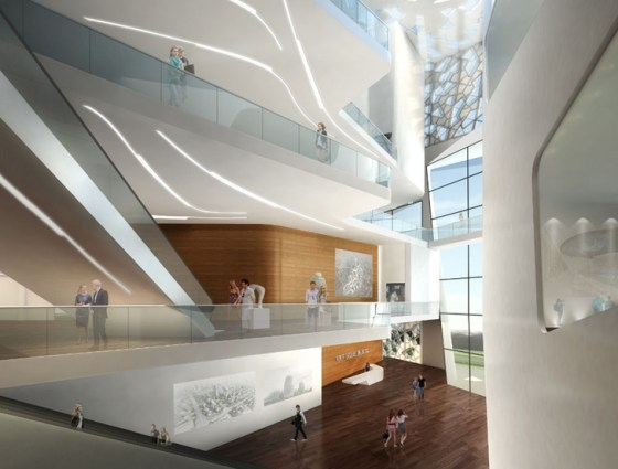 Islamic Design, China, Mashrabiya, Yinchuan Exhibition Center, daylighting, energy efficiency