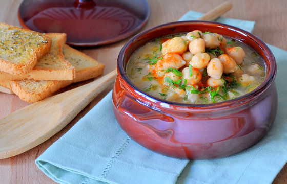 Eat Like A Sustainable Moroccan – Chickpea and Spinach Soup RECIPE