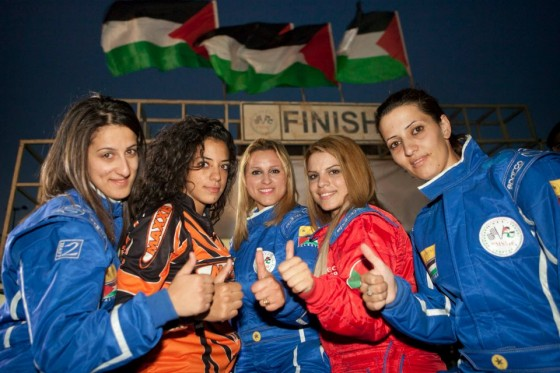 speed sisters, palestinian women race car drivers
