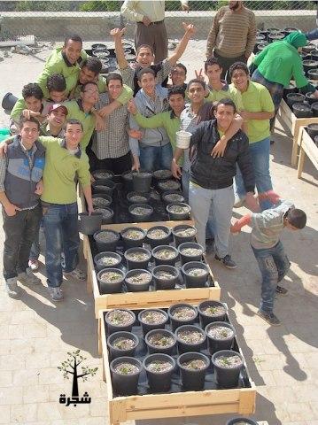 urban, rooftop farming, egypt, shagara, NGO, global warming, carbon emissions, cairo