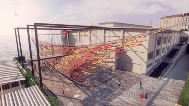 Flying Carpet of Sea Plastic Among YAP Istanbul Modern Finalists