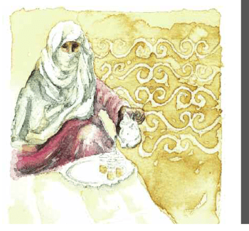 moroccan argan oil cookbook berber woman serving tea