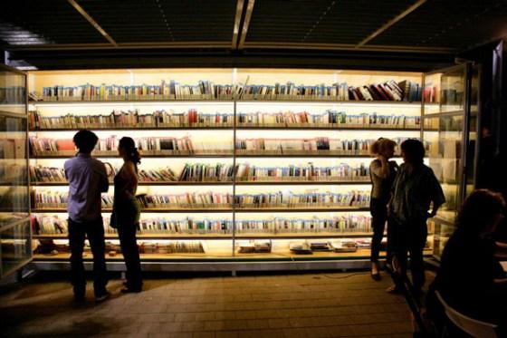 Tel Aviv Levinsky Garden Library