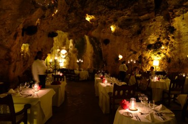 Ali Barbour Cave Restaurant in Kenya Offers Flintstone Fine Dining