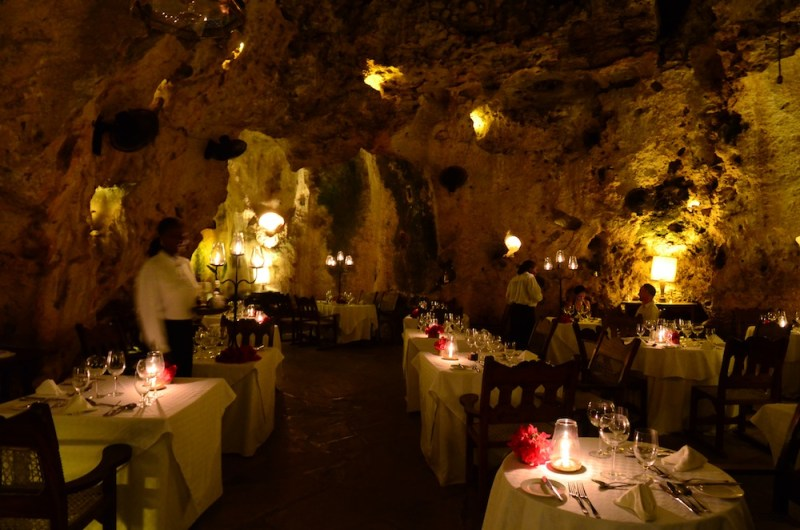 Ali Barbour Cave Restaurant in Kenya Offers Flintstone Fine Dining
