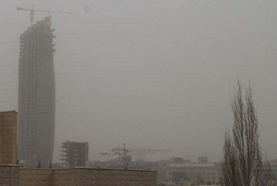 amman jordan dust storm, green prophet