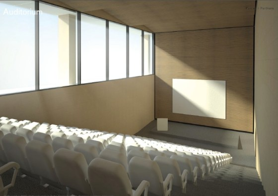auditorium-foster-partners-hebrew-university-safra-brain-building-israel