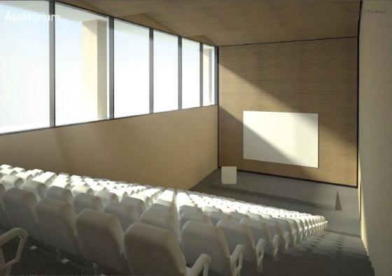 auditorium-foster-partners-hebrew-university-safra-brain-building-israel