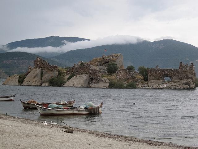 Chemical Waste Destroying Turkey's Historical Bafa Lake Reserve