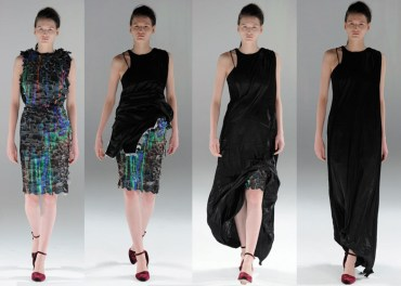 Hussein Chalayan's Transformer Runway Clothes