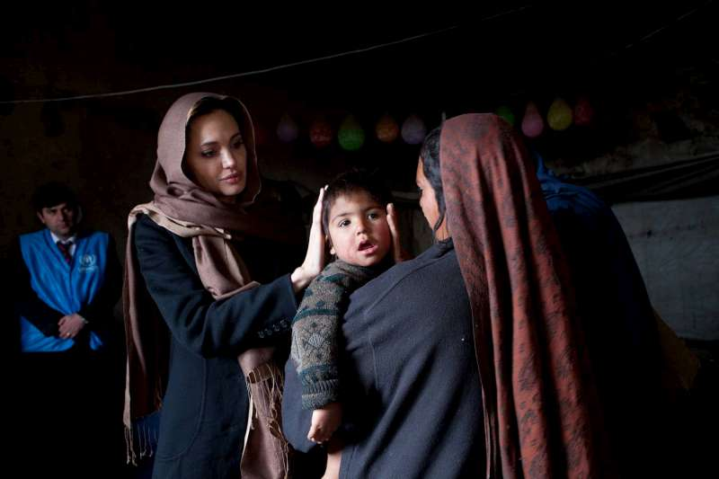 Bling for Books: Angelina Jolie Opens School in Afghanistan
