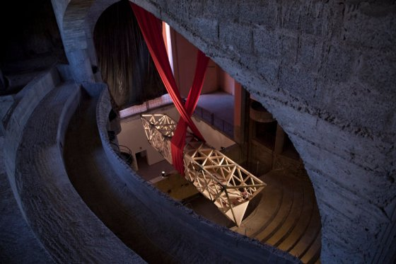 see-saw, morocco-marrakech, Alex Schweder, Rise and Fall, art, architecture, human movement, music, design, temporary installation