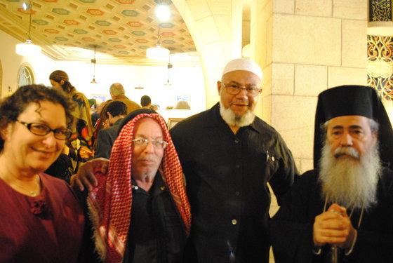 delegates green pilgrimage jerusalem