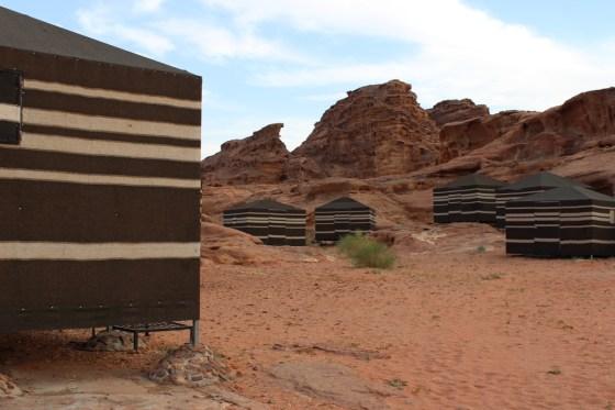 Bedouin Tents Jordan Red Desert wadi rum