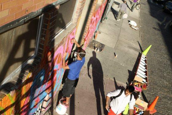 graffiti artist, Tunisian artists, graffiti at IDEAS City Festival, French Institute Alliance Francaise,