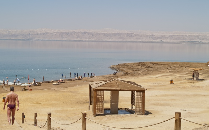 Support Sustainable Tourism and Keep Hotels Afloat at the Dead Sea in Jordan