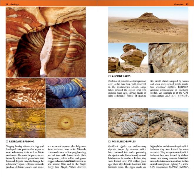 Jordan Geology field guide book