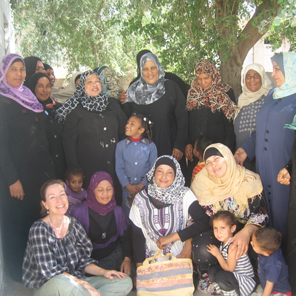 How Jean Bradbury Makes a Difference a World Away in Jordan